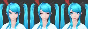 Hatsune Miku: Some Morphs by HazardousArts