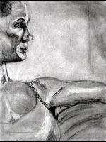 Female Figure -3 hour drawing- by macillustrator