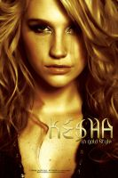 Ke$ha Gold by omar05