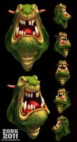 head monster by thezork