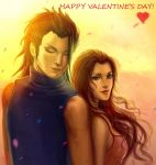 Zack and Aerith by Elistraie