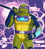 Donatello 1 - 'Paint practice' by mukuto