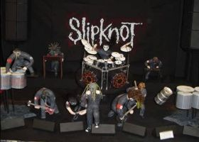 claymation of slipknot by raysic08