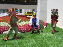 Majora's Mask Cosplayers by Knightfourteen