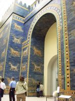 Ishtar Gate 01 by Axy-stock