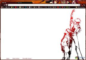 Gurren lagan chrome theme by MangaServer