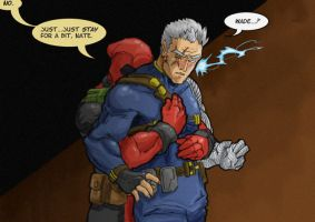 Slash - DeadpoolCable - Faux by TierraL
