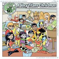A Very Titans Christmas by BillWalko