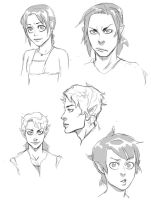Exile Sketchydoodles by charlottevevers