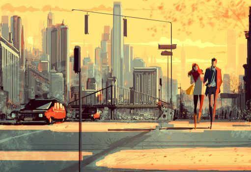 Walking into Fall. by PascalCampion