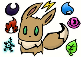 Eevee Eevee :3 by Kat-The-Piplup