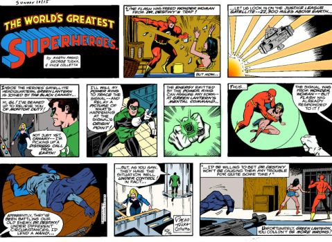 The Worlds Greatest  SuperHeroes 1015 (Old School) by YosiPel