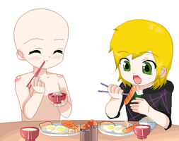 Food -Collab- by Ca14