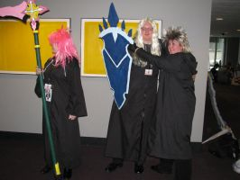 Marluxia, Vexen and Demyx by Shadow-in-teh-Night6