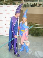 Dark Magician couple by xAleux