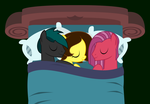 Cuddling with Her Colts by Trail-Grazer
