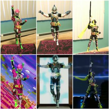 Ex-Aid, Brave, and Snipe Level 2 by SentaiFive