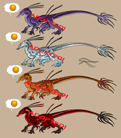 Arkine Adoptables by AtlasArtifex