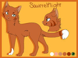 Squirrelflight| Animation Style by WhiteMutt1995