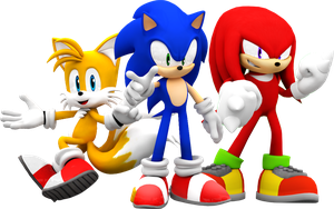 Team Sonic! by Nibroc-Rock