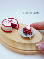 Red Velvet Cake by SmallCreationsByMel