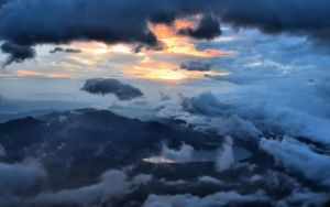 Fuji Clouds by gaelic