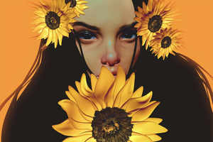 My Sunflower by CezarBrandao