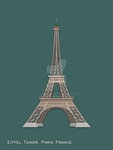 Famous Landmarks in Material Design by glange65