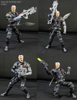 Custom Cable Tacticool Marvel legends figure by Jin-Saotome