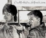 Sam and Dean Winchester by cindy-drawings