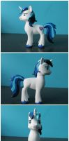 FOR SALE: Custom Shining Armor G4 pony by EmR0304