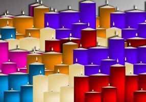 vector candles by Scarletmarie16