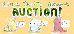 LETTERS charity artbook auction (x2!) end/AB! by chocuu