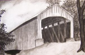 Covered Bridge by elletennyson