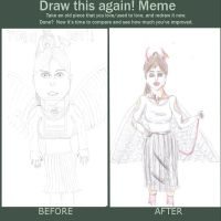 Draw this again meme-angeldevil by writtmanica