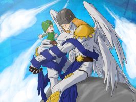 An angel by your side by Ds-Seraphim