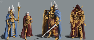 WIP: Saint concepts by PeterPrime