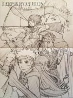 The Lord of the Rings AU by Lilkpopean