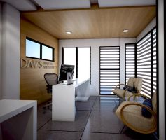 interior of my office (proposal) by davens07