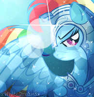 crystal rainbow shield by xWhiteDreamsx