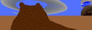 Project Hylian Abstract 12: OoT Death Mountain by scriptureofthescribe