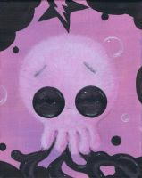 fuzzy bubble octopus by coallus