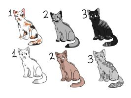 Cat Breeds/Adopts =3 Free and points -::Open::- by KibaHunt