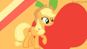 Applejack Wallpaper by ChillyBilly4