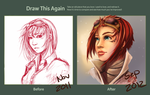 :Draw it again: Mei Lin by Clouddreamea