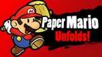 Paper Mario for SSB4 by SuperSmash3DS