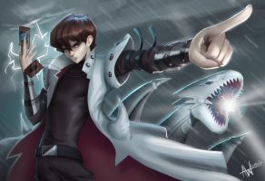 Seto Kaiba by Lushies-Art