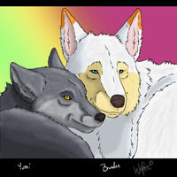 Two Lovers by WolfArtC