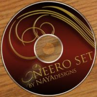 Oneero Swirls brush set by NayaDesigns