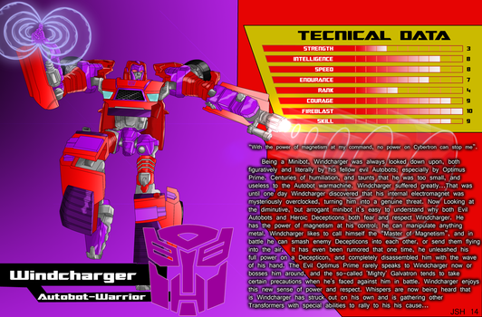 Shattered Glass Windcharger tech specs by MagusTheLofty